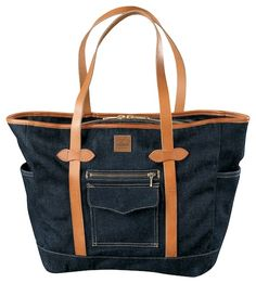 New Filson Denim Bags for Fall New denim for fall from Filson   This Fall, Filson is expanding their line of carrying companion