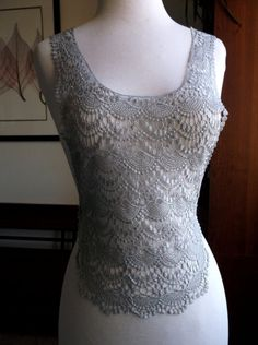 Lt Gray Lace Appliques by CraftFabricAndMore on Etsy