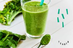 Tee sitä tee tätä: HOW TO // Matcha-vihersmoothie // Greensmoothie with matcha Tea Recipes, Matcha, Cantaloupe, Things To Do, Fruit, Ethnic Recipes, Blog, Things To Make