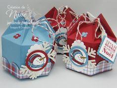 Christmas Mini Milk Carton altered   by Marie-Lyne Vervoite