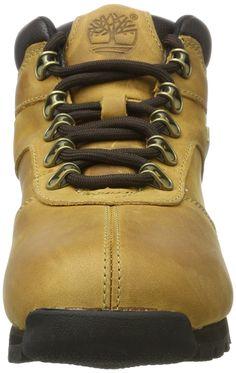 New Boys TIMBERLAND Leather Boots Kids Sale Lace Euro Sprint Split Rock Size 7-6