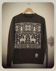 NU Apparel: Ltd Edition Christmas Sweatshirt (Storm Grey)