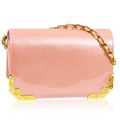 fc5233950c7 Valentino Orlandi Italian Designer Coral Pink Patent Leather Mini Purse  Messenger Bag #bag #tote #designerbags #designer #women #fashion #trendy  #style ...