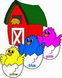 """felt board characters - """"This Little Chick"""" children's rhyme"""