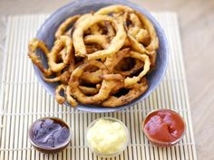 Onion rings (pâte à beignet)