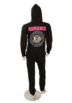 Ramones classic black onesie