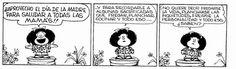 Día de la madre - Mafalda
