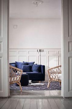Un salon nordique chic d'inspiration bord de mer, Ikea