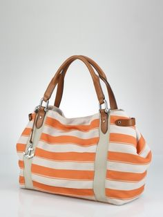 ⚓ Beach Cottage Life ⚓ Cap D'Ail Canvas Striped Tote ⚓ Ralph Lauren UK
