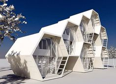 5 Inexpensive Modern Prefab Houses You Can Buy Right Now – My Life Spot Architecture Module, Futuristic Architecture, Amazing Architecture, Interior Architecture, Modular Housing, Modular Homes, Module Design, Dome House, Prefab Homes