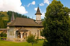Sucevita monastery Established at Sweet Home, Cabin, Mansions, Cathedrals, Country, Nice, House Styles, Medieval, Spiritual