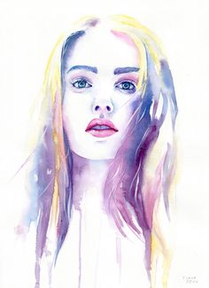 """crossconnectmag: """" Watercolors by Cora-Tiana """"We are Cora and Tiana, artists, photographers and travellers. We work in various styles and with all kinds of media: oil, watercolor, pastels and..."""