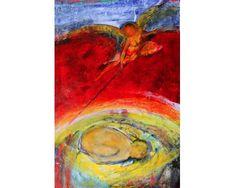 Taina - pictură în ulei pe pânză, artist Iurie Cojocaru Painting, Painting Art, Paintings, Painted Canvas, Drawings