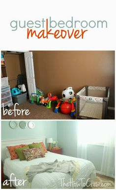 Budget friendly guest bedroom makeover!