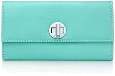 Tiffany and Co. clutch! Every day I whip this puppy out it makes me happy! Plus it still smells delicious lol!