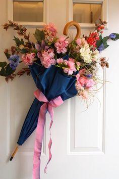 Umbrella spring Wreath