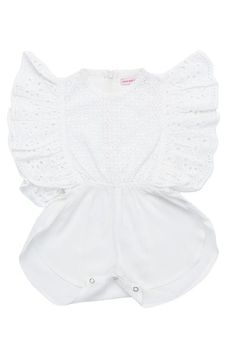The Delphine Playsuit is a beautiful flat frill sister of the Magnolia. Designed as a one piece with a soft internal zip from the waist up the back. Beautiful Children, Beautiful Hands, Cutwork, Kids Wear, Playsuit, Hand Stitching, Printed Cotton, One Piece, Rompers
