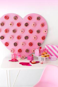 DIY Heart Donut Pegb