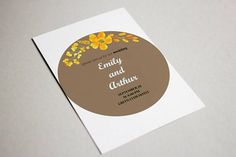 Check out this item in my Etsy shop https://www.etsy.com/uk/listing/560606496/floral-wedding-invitation-template