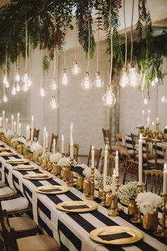 Mix of modern, industrial, and vintage | Magical wedding lighting