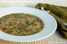 Slow Cooker Zuppa Toscana (Olive Garden)# slow cooker healthy recipes