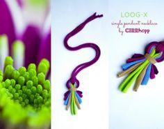 Upcycled LOOG-X fiber by cirrhopp on Etsy