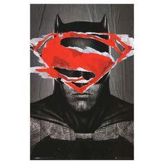 Batman Vs Superman Batman Teaser, Poster, Red