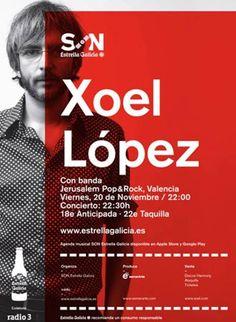 Musicólogas: Concierto de Xoel López en Jerusalem Pop&Rock