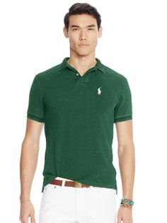 Slim-Fit Polo Shirt - Personalization Slim Fit - RalphLauren.com