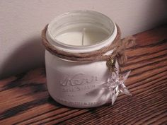 Mason Jar Candle Idea!