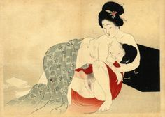 CLICK the IMAGE for MEIJI SHUNGA pieces!