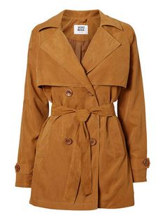 DOUBLE BREASTED TRENCHCOAT, Rubber VERO MODA