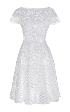 Annetta Dress by No. 21 for Preorder on Moda Operandi White A Line Dress, Lace A Line Dress, Floral Lace Dress, Lace Dresses, Wedding Dresses, White Embroidered Dress, Summer Dresses, Formal Dresses, Pretty Outfits