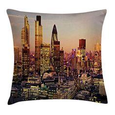 Car Elliot/_yew Creative Throw Pillow Cover Square Burlap Pillowcase Cotton Linen Cushion Cover Sleeve Cute Animals Home Decorative Case For Sofa Garden 18x18 Inch 45x45CM-Deer Skull Bed