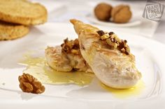 Chicken Me-ara (with honey and walnuts ) . Albanian cuisine