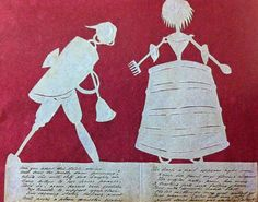 There is a feature in World of Interiors this month about these beautiful paper cut-outs, which are a small sample of the hundreds that were hand made by Mrs Elizabeth Cobbold of Ipswich in the first decades of the nineteenth century and sent out as invitations to her annual St. Valentine's Day Ball.