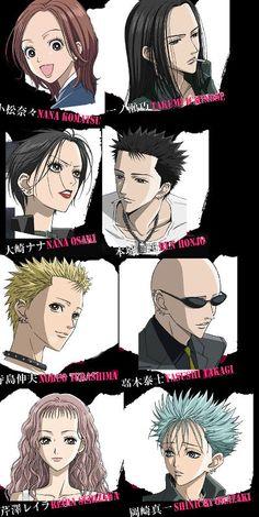 My number 1 fave anime eveeerrr! I Love Anime, Awesome Anime, Me Me Me Anime, Manga Art, Manga Anime, Anime Art, Anime Music, Shin Nana, Nana Manga