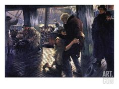 The Prodigal Son In Modern Life - The Return Wall Decal by James Tissot at Art.com