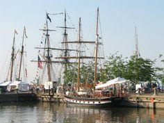 Cleveland Ohio Lake Erie Tall Ships  Photo taken by Belinda Jakab