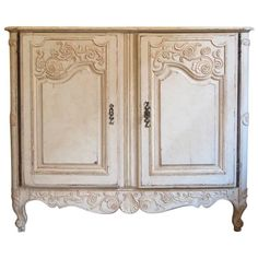 Extremely Rare Antique French Regence Buffet | See more antique and modern Buffets at https://www.1stdibs.com/furniture/storage-case-pieces/buffets