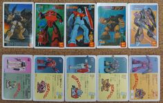 Gundam : Kidou Senchi SD Change : 5 Japanese Trading Cards http://www.japanstuff.biz/ CLICK THE FOLLOWING LINK TO BUY IT ( IF STILL AVAILABLE ) http://www.delcampe.net/page/item/id,365157519,language,E.html