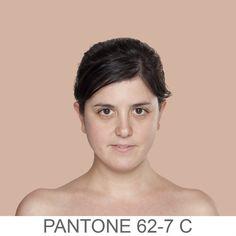 Pantone skin colors. humanæ