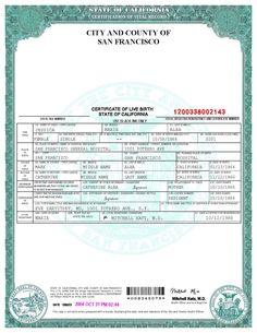 Template california drivers license editable photoshop file d san francisco birth certificate template fandeluxe Gallery