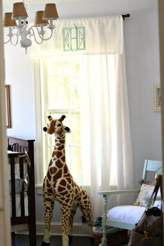 """Something Borrowed, Something Blue"" – A Sweet Safari-Inspired Nursery for Baby Baker"