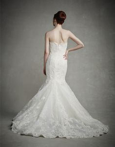 NEW 2015 Enzoani - Jenny - Lace and Tulle textured ballgown - Available at Uptown Bridal & Boutique fall of 2014