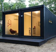 container home living room designs