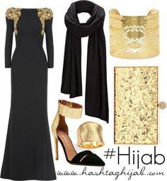 Hijab Fashion 2016/2017: Sélection de looks tendances spécial voilées Look Descreption Hashtag Hijab Outfit #270