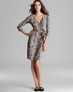 DIANE von FURSTENBERG Wrap Dress - New Julian Two   Bloomingdale's