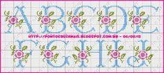 Cross Stitch and More: Floreale Monogramma - Gioca Magazine !!