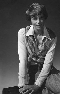 Amelia Earhart, 1931  • photo by Edward Steichen - I  think her life story is interesting. Will we ever know the whole story?  Iris Wilson